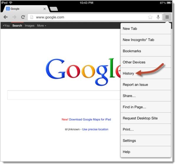 Chrome Android Как Почистить Историю