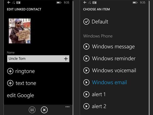 как установить свою мелодию на windows phone 8.1 на телефоне